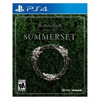 The Elder Scrolls Online Summerset - PlayStation 4