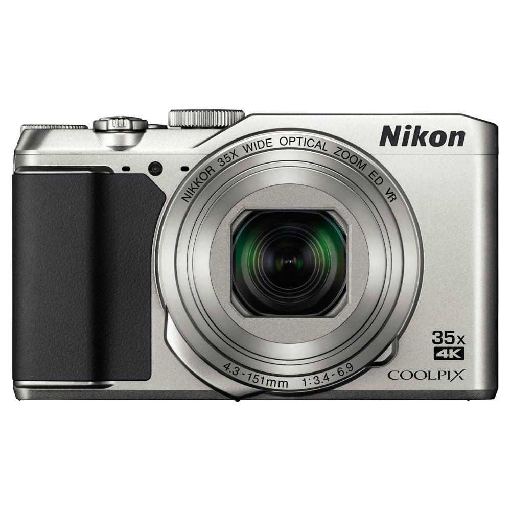 Nikon Coolpix A900 Compact Camera - Silver (26505), Black