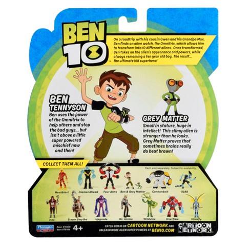 Ben 10 Tennyson And Gray Matter Basic Action Figure Target