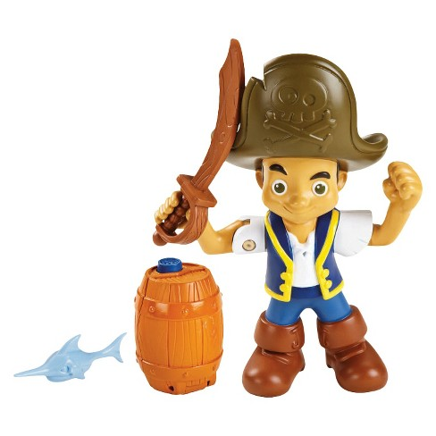 Fisher-Price Disney Jake and the Never Land Pirates Buccaneer Battling Jake Figure - image 1 of 7