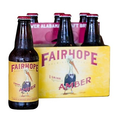 Fairhope I Drink Therefore I Amber Beer - 6pk/12 fl oz Bottles