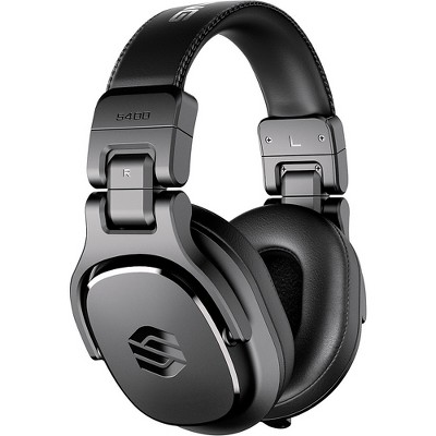 Sterling Audio S400 Studio Headphones with 40 mm Drivers Black