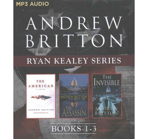 American / The Assassin / The Invisible (MP3-CD) (Andrew Britton) - image 1 of 1