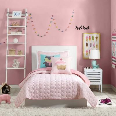 Helaine Quilt Set Pink - Urban Playground