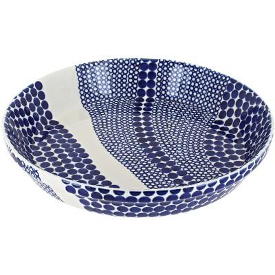 Blue Rose Polish Pottery Zara Pie Plate