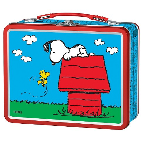 Thermos Metal Lunch Box - Snoopy (Red) - image 1 of 1