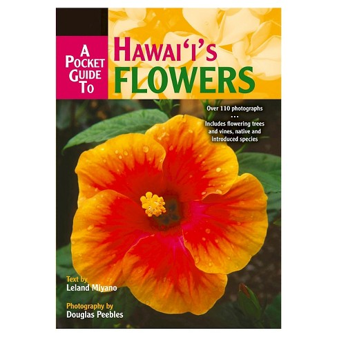 A Pocket Guide to Hawaii's Flowers (Paperback) - image 1 of 1