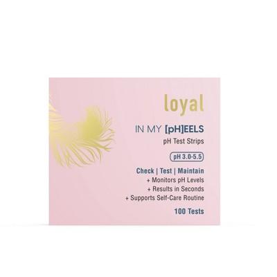 Loyal In My [pH]EELS Feminine pH Test Strips - 100ct