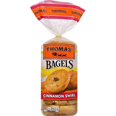 Thomas' Cinnamon Swirl Bagels - 20oz/6ct