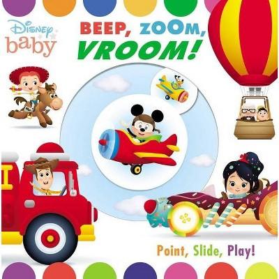 Disney Baby: Beep, Zoom, Vroom! - by Maggie Fischer (Board Book)