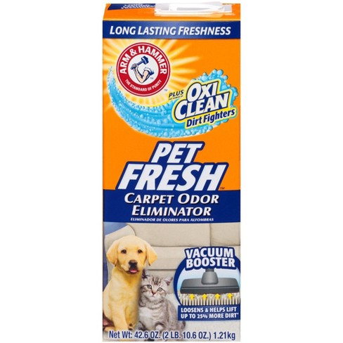 Arm & Hammer with OxiClean Pet Fresh Carpet Odor Eliminator with Vacuum Booster 42.6 oz - image 1 of 4