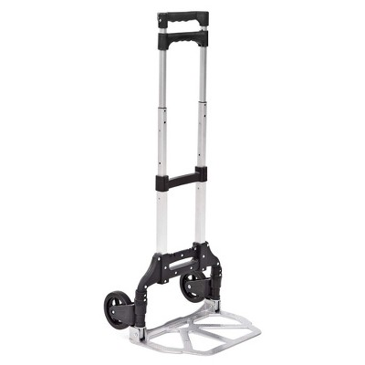 Liberty Industrial 10001 Easy Travel Folding Luggage Hand Truck Cart Aluminum Construction w/Grips Hand Truck