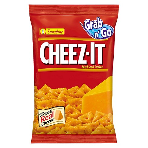 Cheez-It Grab n' Go Cheddar Baked Snack Crackers 3 oz - image 1 of 1