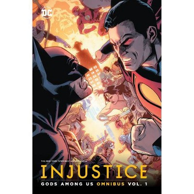 Injustice: Gods Among Us Omnibus Vol. 1 - by  Tom Taylor (Hardcover)
