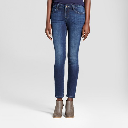 fc3e1848 Women's Curvy Fit Skinny Jeans - Crafted By Lee® Medium Blue 14 ...