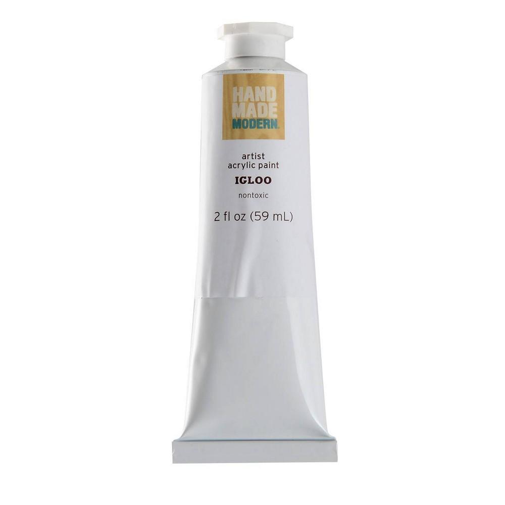 Image of 2 fl oz Acrylic Craft Paint - Hand Made Modern Igloo White