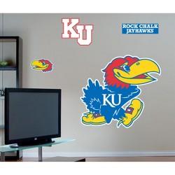 Fathead Kansas Jayhawks Logo Wall Decals