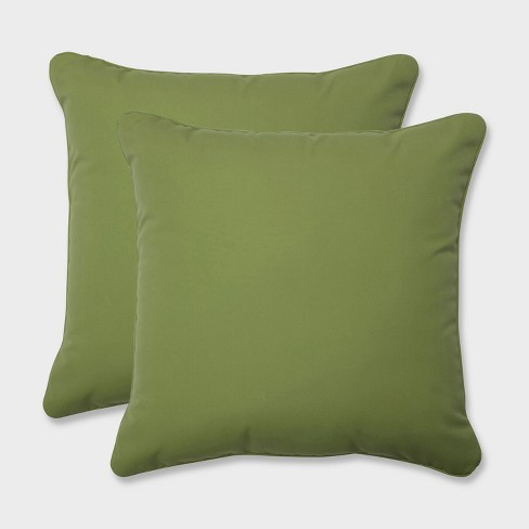 "18.5"" 2pk Colefax Pesto Throw Pillows Green - Pillow Perfect - image 1 of 1"