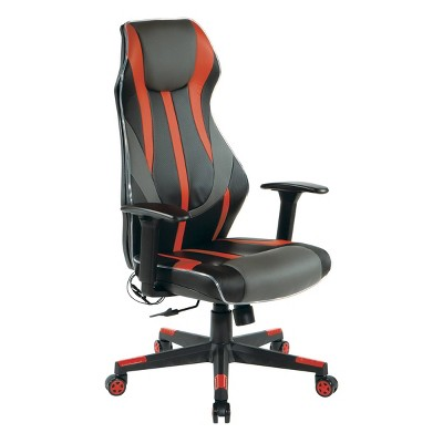 Gigabyte Faux Leather Gaming Chair - OSP Home Furnishings