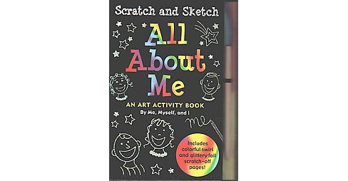 Scatch and Sketch All About Me : An Art Activity Book (Hardcover) - image 1 of 1
