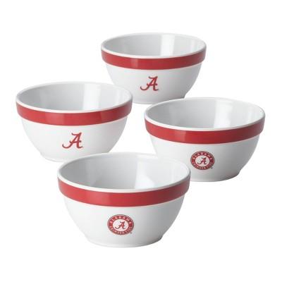 NCAA Alabama Crimson Tide Party Bowls