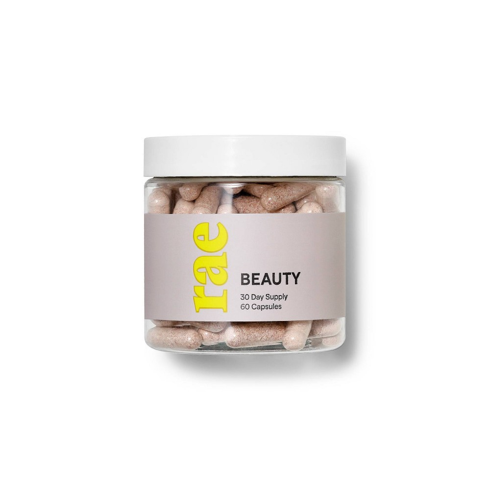 Image of Rae Beauty Dietary Supplement Capsules - 60ct, Adult Unisex
