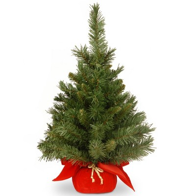 2ft National Christmas Tree Company Majestic Fir Artificial Christmas Tree