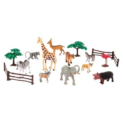Terra Jungle World Playset (60 Pc) by Terra By Battat