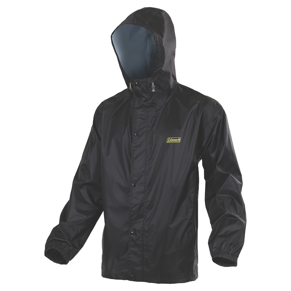 Image of Coleman Adults' Highbanks Trail Polyester Jacket - L/XL, Adult Unisex, Black