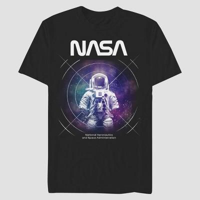 Men's NASA Short Sleeve T-Shirt - Black