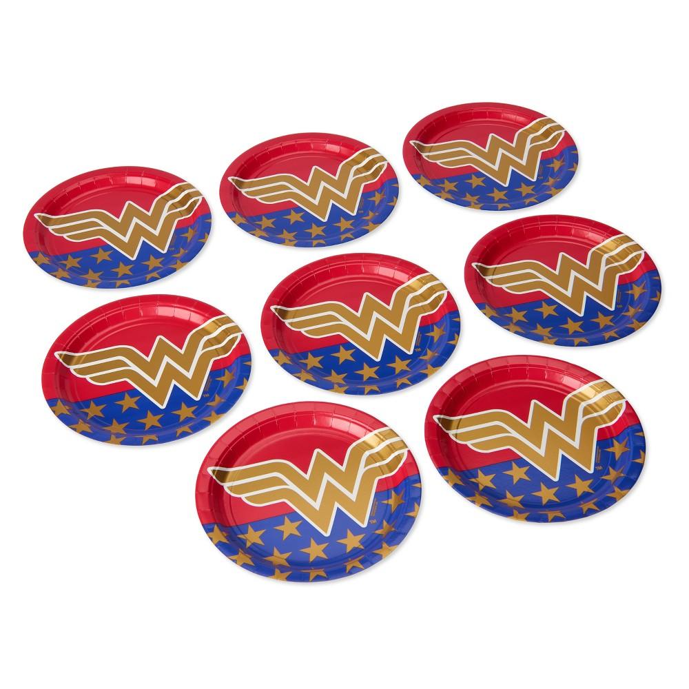 Image of 8ct Wonder Woman Dinner Plates