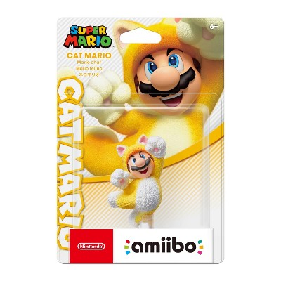 Nintendo Super Mario World 3D amiibo Figure - Cat Mario