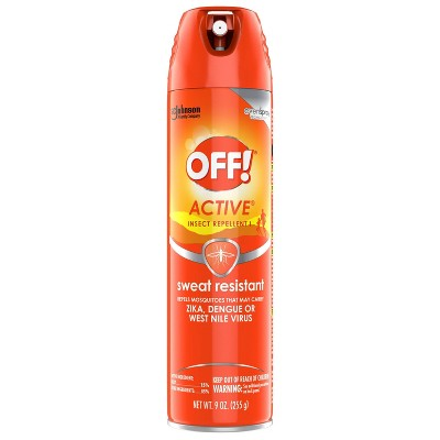 OFF! 9oz Active Insect Repellent