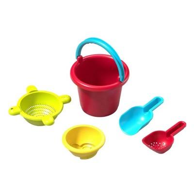 HABA Sand Toys Basic Set - 5 Piece Toddler Sized Set