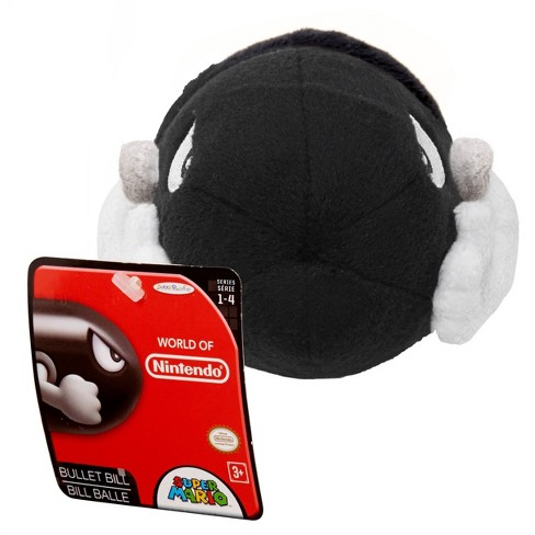World of Nintendo Mario Bros U Plush - Bullet Bill - image 1 of 4