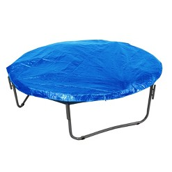 UpperBounce Economy Trampoline Weather Protection Cover for 12' Round Frames - Blue, Adult Unisex