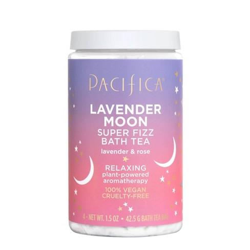 Pacifica Lavender Moon & Rose Super Fizz Bath Tea - 1.5oz - image 1 of 3