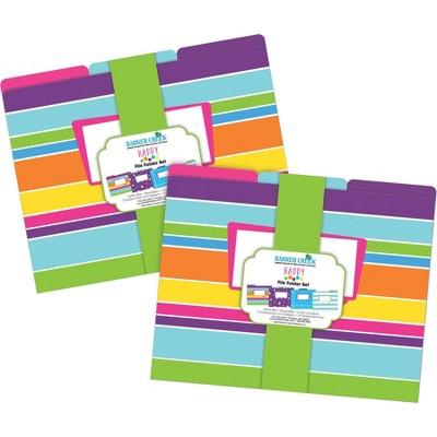File Folders Multi-Design 24 per Set Letter Size Happy - Barker Creek