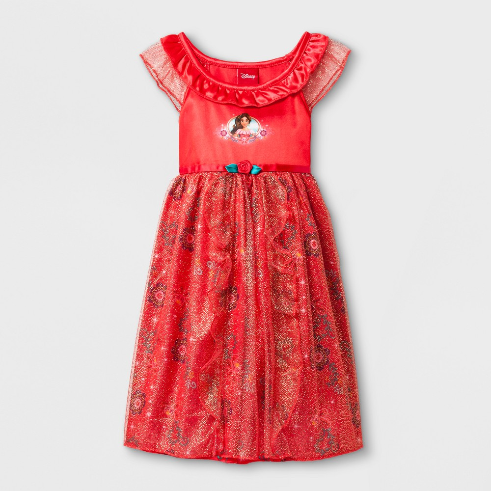Toddler Girls' Disney Elena of Avalor Gown - Red 18M
