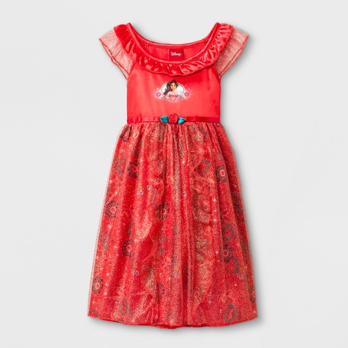 Baby Girls\' Disney® Elena of Avalor Gown - Red : Target