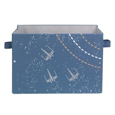 Lambs & Ivy Star Wars Galaxy Foldable/Collapsible Storage Bin/Basket Organizer