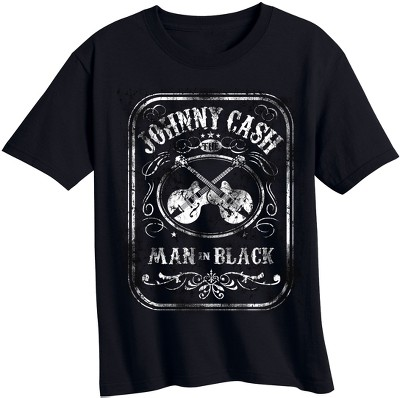 Toddler Boys' Johnny Cash Short Sleeve T-Shirt - Black