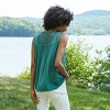 Women's Sleeveless Embroidered Woven Blouse - Knox Rose™ - image 2 of 4