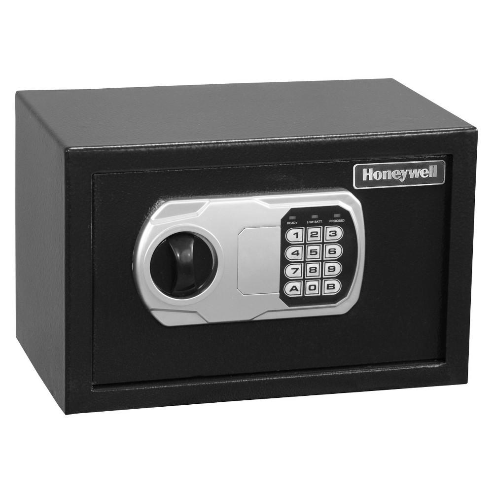 Image of Honeywell Small Steel Security Safe - Black (5101DOJ)