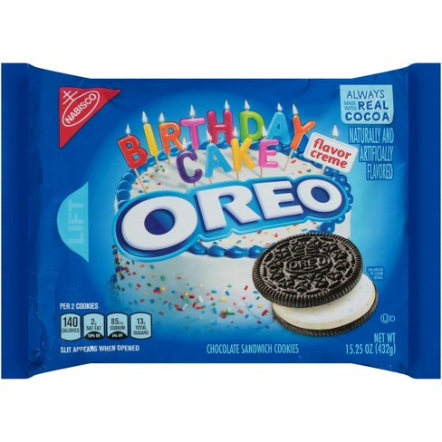 Image result for birthday cake oreos