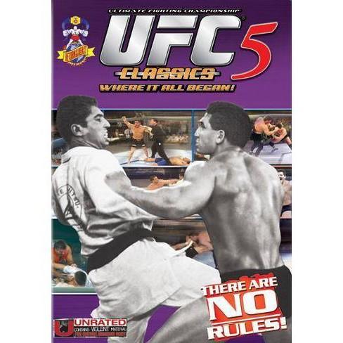 UFC Classics 5 (DVD) - image 1 of 1