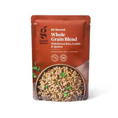 90 Second Whole Grain Blend with Brown Rice, Lentils & Quinoa - 8.8oz - Good & Gather™