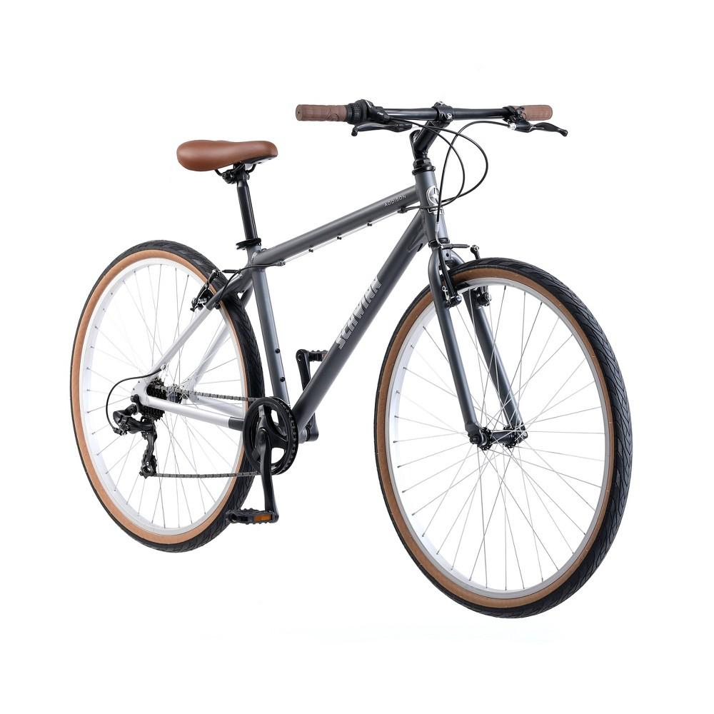 Schwinn Addison 28 City Hybrid Bike - Gray