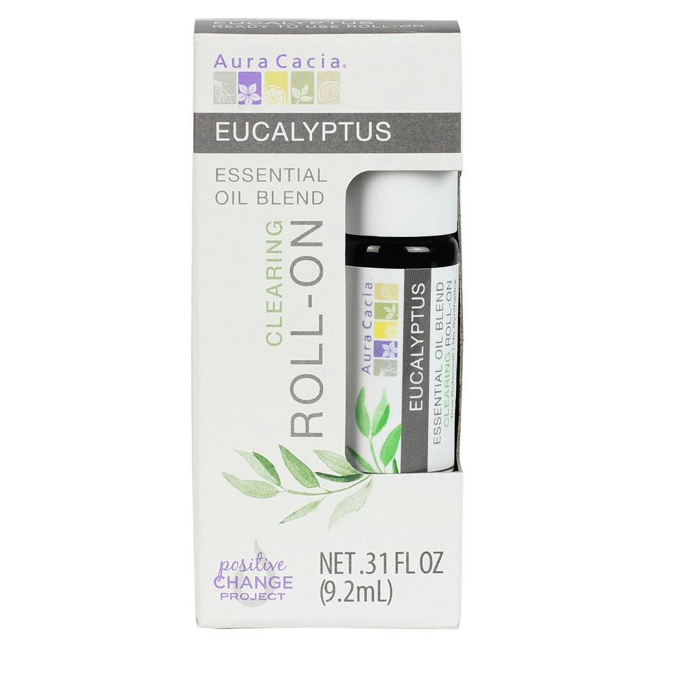 Aura Cacia Eucalyptus Essential Oil Roll-On - .31oz