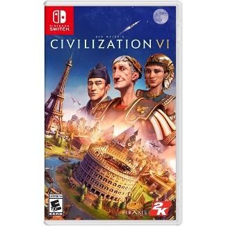 Sid Meiers: Civilization VI - Nintendo Switch